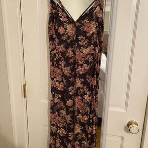 Floral Maxi Dress (American Eagle)